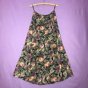 "Vintage Floral 'At Last & Co."" Maxi Skirt"
